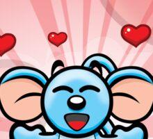 HeinyR- Lover Mouse Sticker