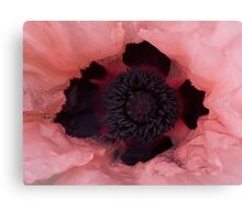 Poppy Crown Canvas Print