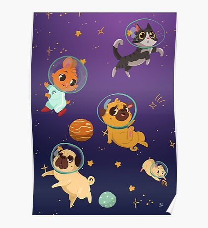Space pets Poster