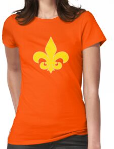 Fleur de Lis Womens Fitted T-Shirt
