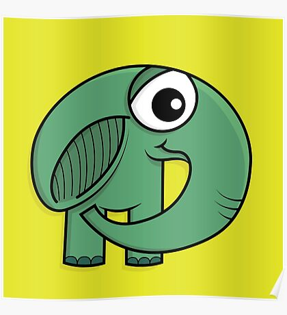 Un éléphant ça trompe énormément! Poster