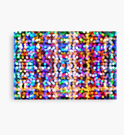 Abstract Collection Of Beautiful Lights Canvas Print
