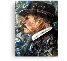 Chief Inspector Chester Campbell Canvas Print