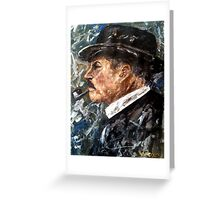 Chief Inspector Chester Campbell Greeting Card