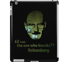 I am the one who knocks...  iPad Case/Skin