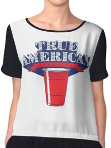 True American Champion (Variant) Chiffon Top
