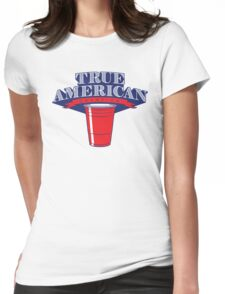 True American Champion (Variant) Womens Fitted T-Shirt