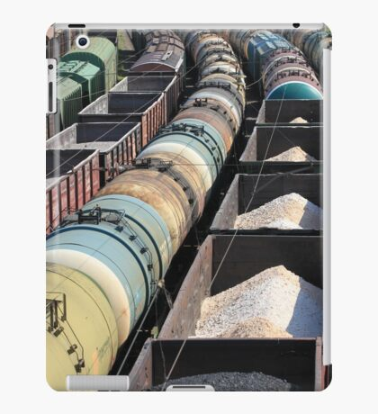 transportation of oil products by rail iPad Case/Skin