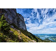Hiking in Austria Photographic Print