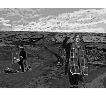 Stand with Standing Rock Black and White Photographic Print