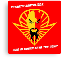 Ming the Merciless Canvas Print
