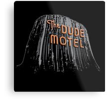 The Dude Motel – Devil's Tower Edition Metal Print