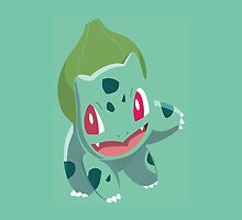 Sleep Tight w/ Bulbasaur by Chris Stites
