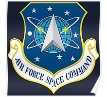 Air Force Space Command Poster