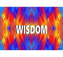 Wisdom Photographic Print