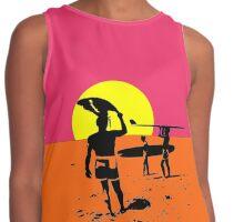 endless summer surfing  Contrast Tank