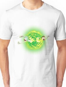 Rick and morty portal Unisex T-Shirt