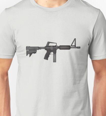 Paint M16 Rifle Unisex T-Shirt