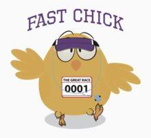 Fast Chick  Kids Tee
