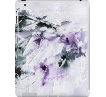 black and purple abstract iPad Case/Skin