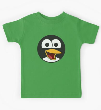 Linux Angry Tux Kids Tee