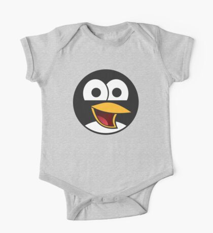 Linux Angry Tux One Piece - Short Sleeve