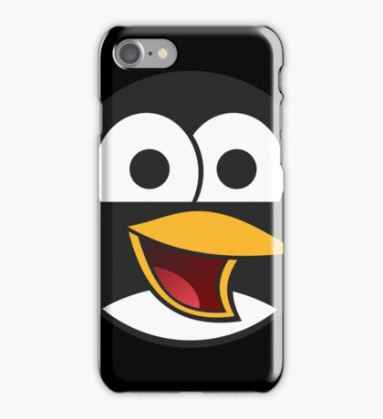 Linux Angry Tux iPhone Case/Skin