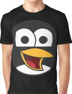 Linux Angry Tux Graphic T-Shirt