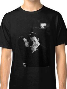 Gomez and Morticia Addams Classic T-Shirt