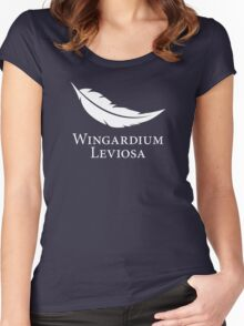Wingardium Leviosa Women's Fitted Scoop T-Shirt