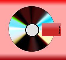 Flat Yeezus Album Art  by WQ24