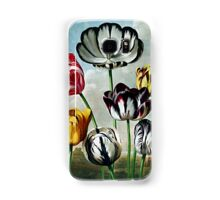 Botanical Art Temple Of Flora Tulips Samsung Galaxy Case/Skin