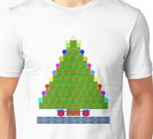 Ugly Christmas Sweater Shirt Chemistree Science Periodic Table Unisex T-Shirt