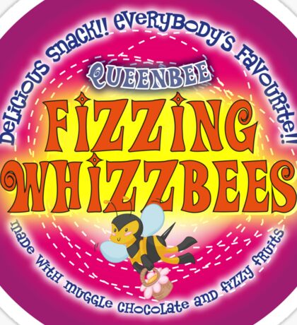 Fizzing Whizzbees Sticker