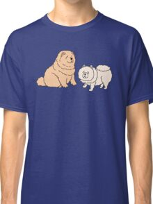 Chow Chow Dog Couple Classic T-Shirt