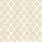 Moroccan Quatrefoil Pattern: Muslin Beige by jsdavies