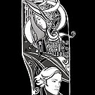Sam and Dean in monochrome  by Amberdreams