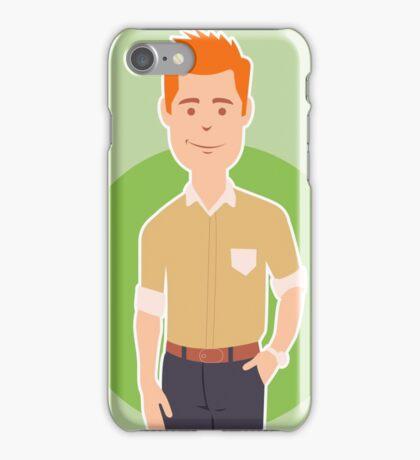 Business man iPhone Case/Skin