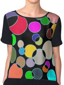 Kolor Bubblz Chiffon Top