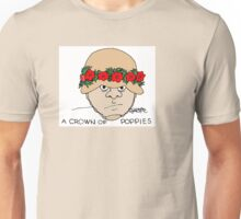 A Crown of Poppies  Unisex T-Shirt