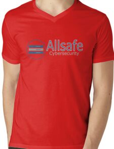 allsafe Mens V-Neck T-Shirt