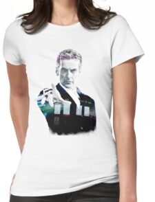 Peter Capaldi - Doctor Who Womens Fitted T-Shirt