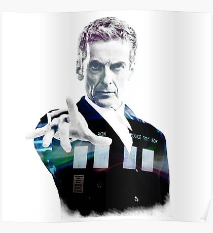 Peter Capaldi - Doctor Who Poster