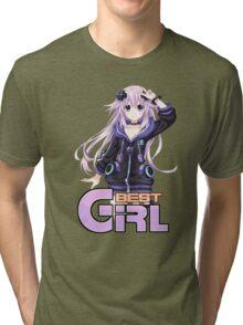 Big Nep is best girl! Tri-blend T-Shirt