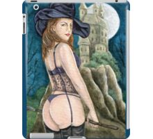 The Naughty Witch iPad Case/Skin