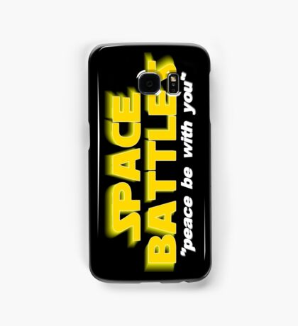 SPACE BATTLES peace be with you Samsung Galaxy Case/Skin