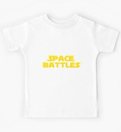 SPACE BATTLES peace be with you Kids Tee