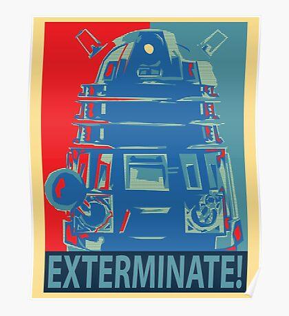 Vote 1# Dalek Poster