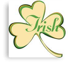 Irish Canvas Print