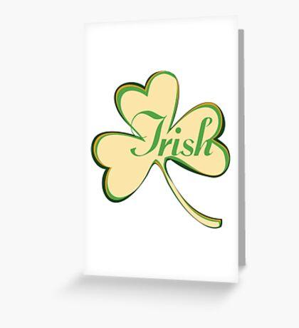 Irish Greeting Card